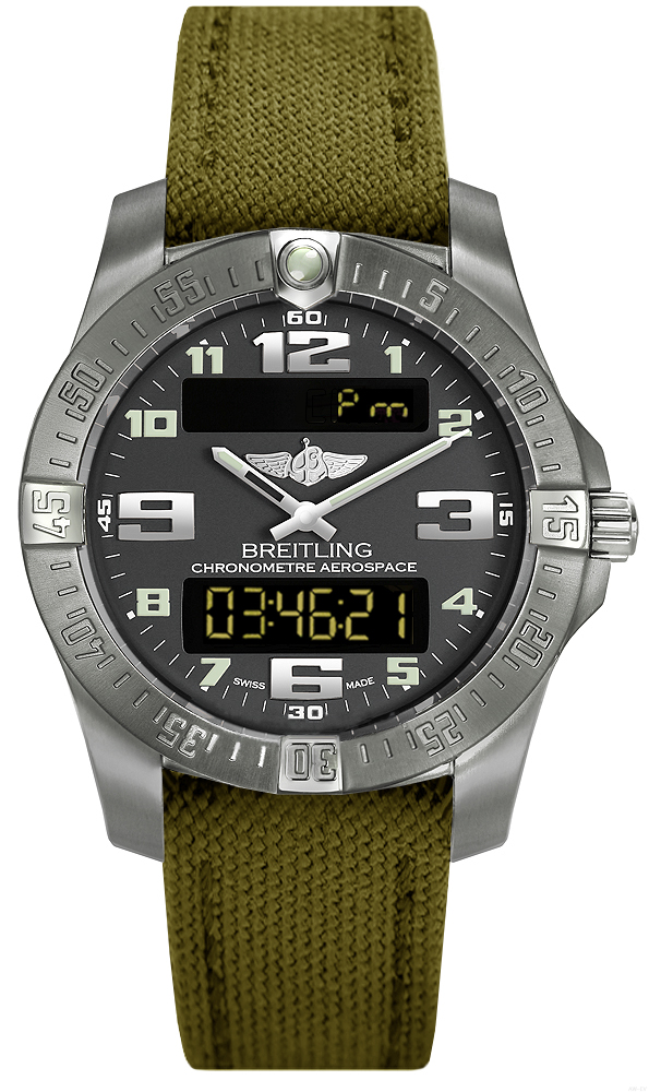 Breitling Professional Aerospace Evo E7936310/F562-106W watches review