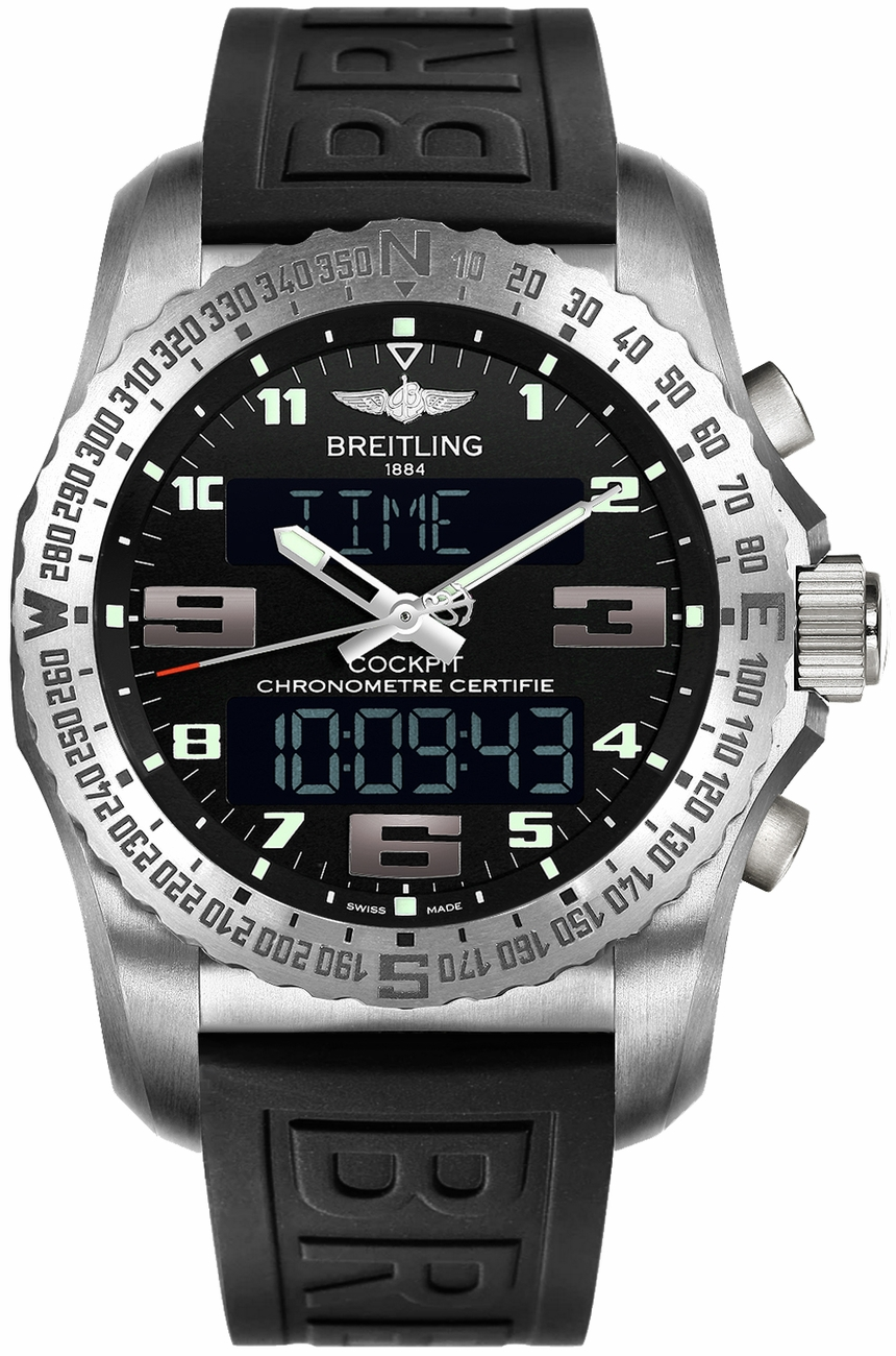 Breitling Cockpit B50 Titanium Men's Watch EB501022/BD40-154S replica