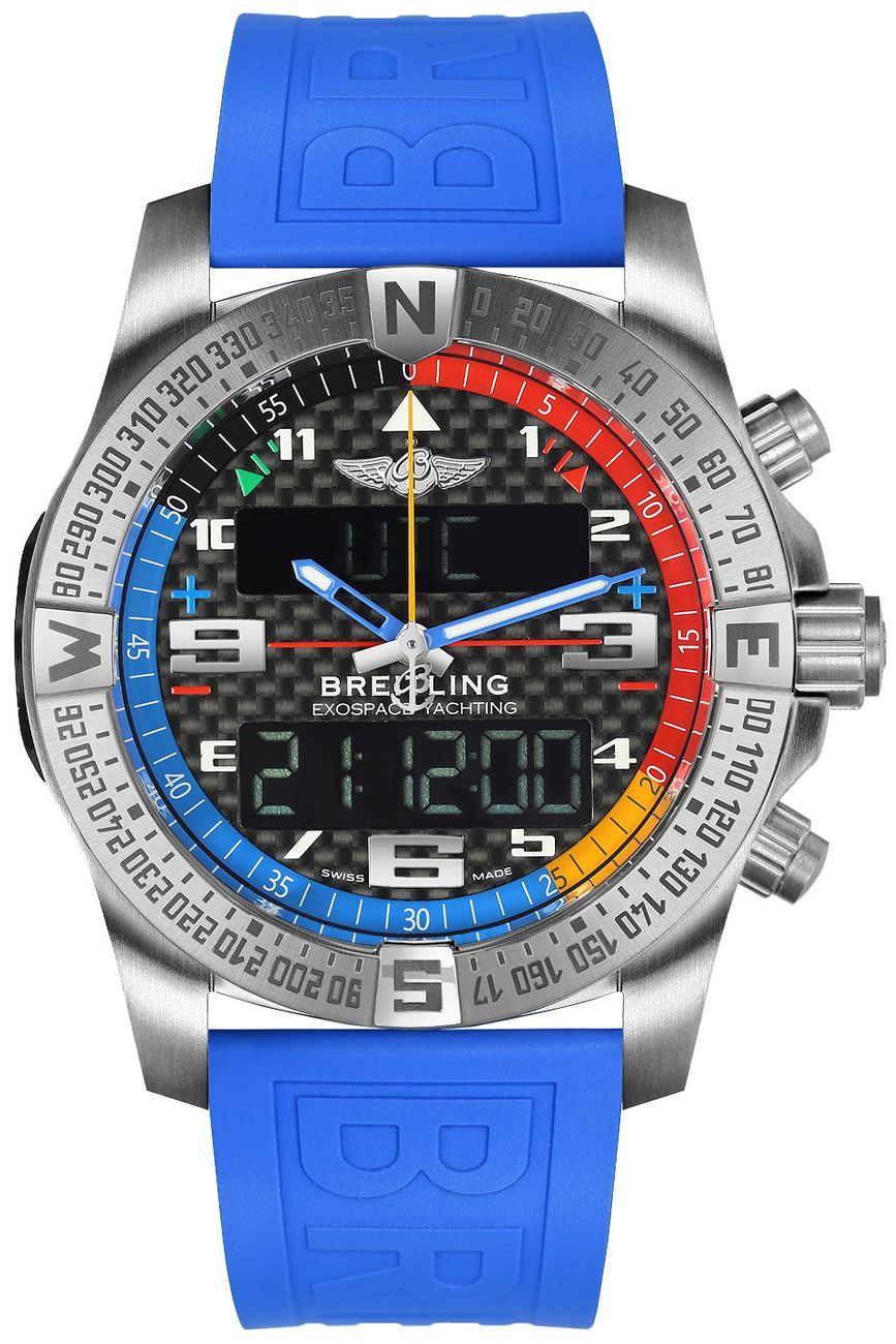 fake Breitling Exospace B55 Yachting Men's Sport Watch EB5512221B1S1