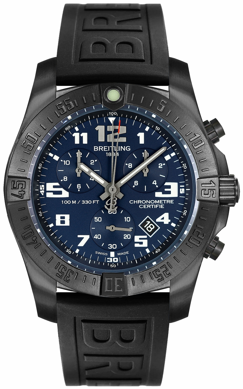 Breitling Chronospace Evo Night Mission V7333010/C939-152S watch review