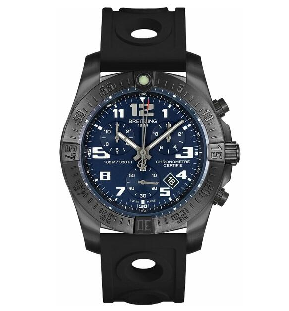 Breitling Chronospace Evo Night Mission V7333010/C939-227S watch review
