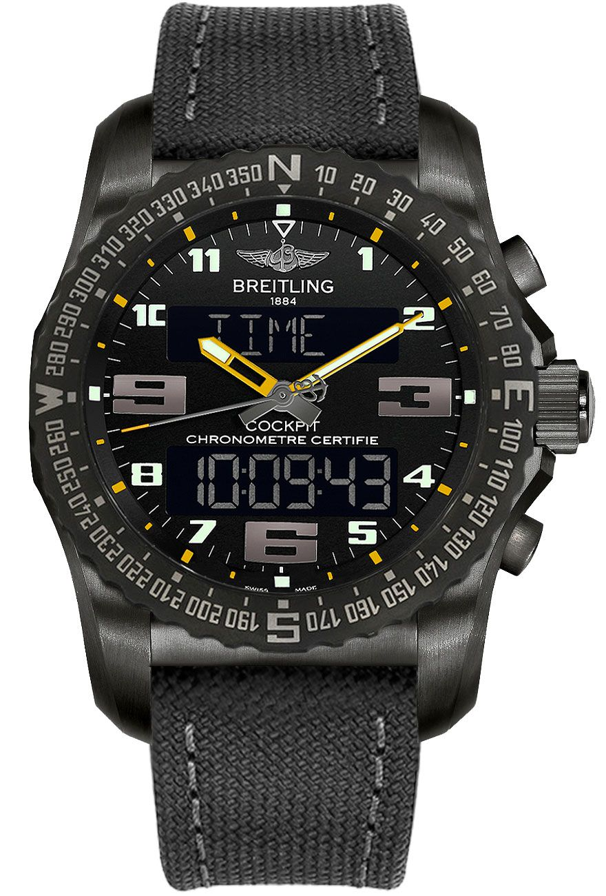 fake Breitling Cockpit B50 Men's Watch VB5010A4/BD41-100W