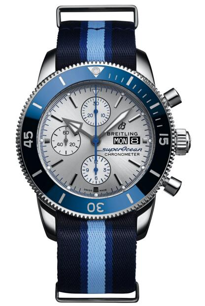 Breitling Superocean A133131A1G1W1 Heritage II Chronograph 44 Ocean Conservancy Limited Edition watch replicas