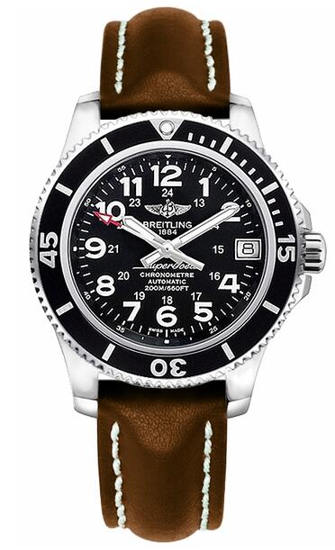 Replica Breitling Superocean II 36 A17312C9-BD91-416X Leather Strap watches