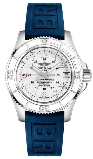 Fake Breitling Superocean II 36 A17312D2/A775-238S women's Diving watches for sale