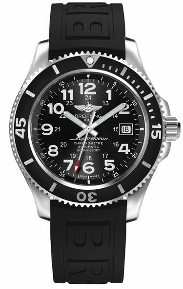 Breitling Superocean II 42 A17365C9/BD67-151S Black Dial Men's watch Review