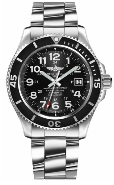 Breitling Superocean II A17365C91B1A1 Luxury mens replica watch