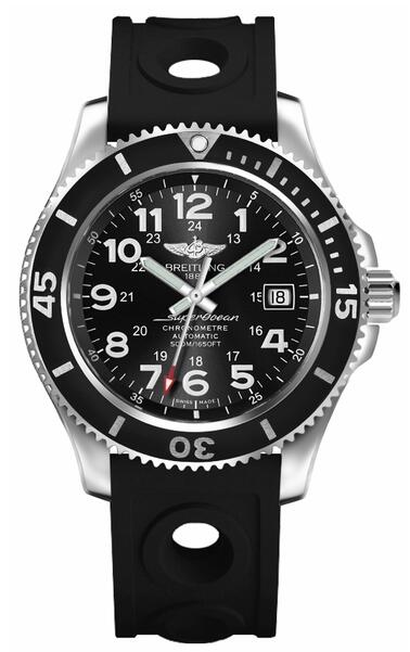 Breitling Superocean II 42 A17365C9/BD67-225S Black Dial Mens watch price