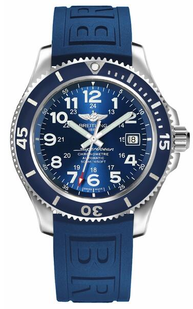 Breitling Superocean II A17365D1/C915-149S mens Blue Dial replica watch
