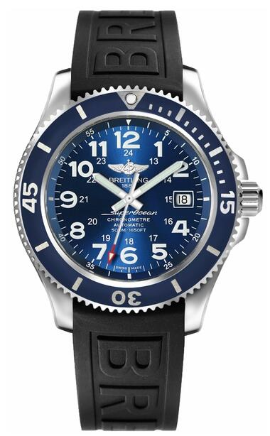 Breitling Superocean II 42 A17365D1/C915-150S Blue Dial mens watch Review