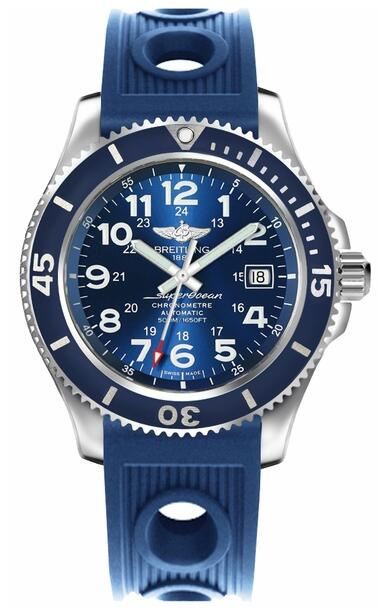 Breitling Superocean II 42 Blue A17365D1/C915-203S mens replica watch