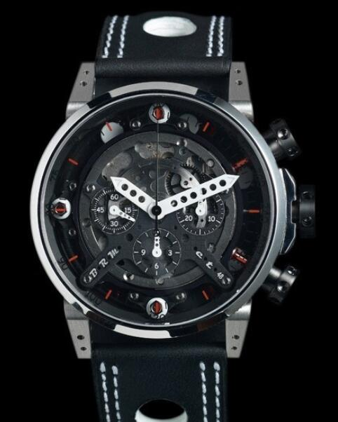 Replica B.R.M CT-48 Watch CT-48-AB Dark Grey PVD Titanium