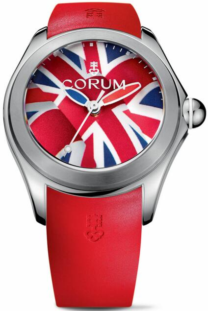 Corum L082 / 03311 - 082.410.20 / 0376 UK01 Replica Bubble Flag watch
