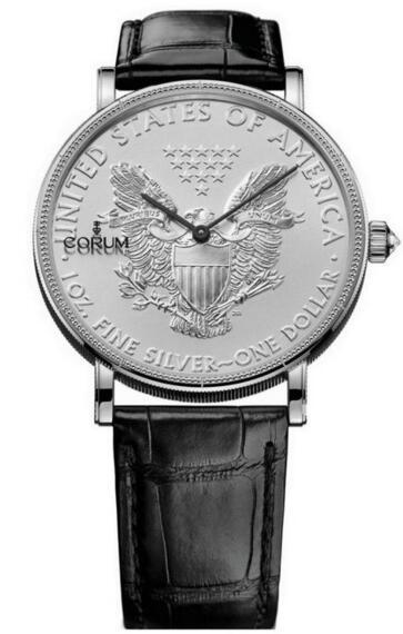 Replica Corum C082 / 02495 082.645.01 / 0001 MU53 Coin 1 $ Silver 50th Anniversary Edition mens watches