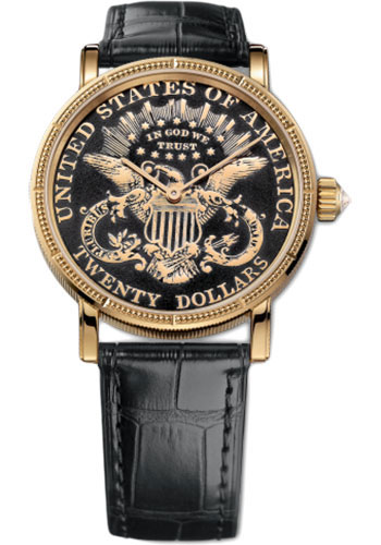 Corum C293 / 02910 - 293.645.56 / 0001 MU59 Coin $ 20 Coin Double Eagle watch luxury replicas