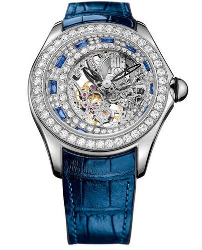 Corum L055 / 02980 Bubble Bubbldiamonds High Jewelery Skeleton watch price