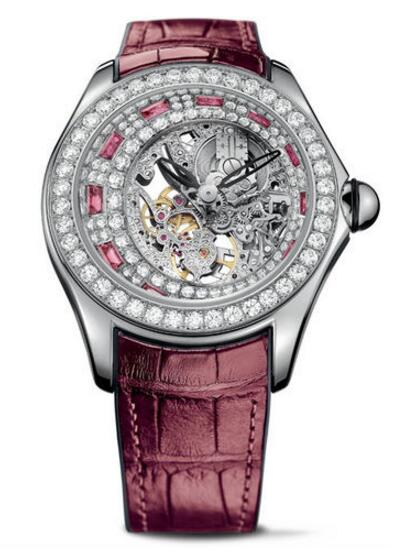 Corum L055 / 02979 Bubble Bubbldiamonds High Jewelery Skeleton watch reviews