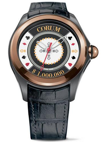 Corum L082 / 03008 - 082.310.93 / 0061 Bubble Heritage Casino Chip watch replicas usa