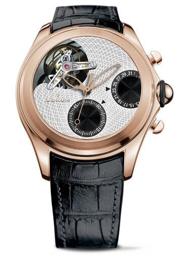 Corum L398 / 02977 - 398.100.55 / 0001 BG01 Bubble Heritage Tourbillon Chronograph Discount replica watch