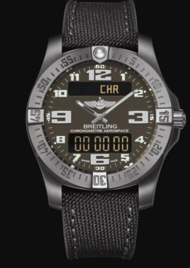 Replica Breitling Aerospace EVO Titanium - Anthracite E7936310/F562/109W/A20BASA.1 Watch
