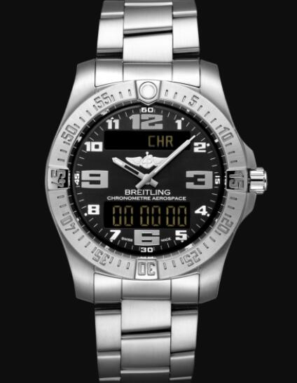 Replica Breitling Aerospace EVO Titanium - Black E79363101B1E1 Watch