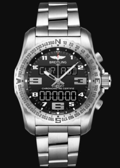 Replica Breitling Cockpit B50 Titanium - Black EB5010221B1E1 Watch
