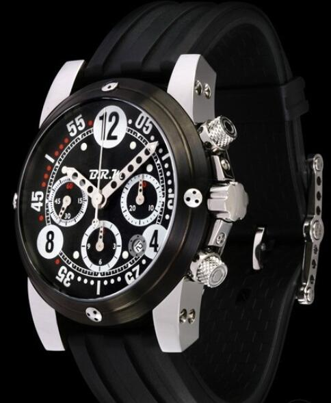 B.R.M Watches Replica Watch B.R.M GP44-111 GP-44 Black Titanium