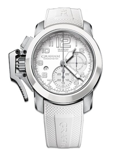 Graham Chronofighter Steel Black White 2CCAD.W02A watches reviews