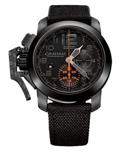 Graham Chronofighter Black Forest 2CCAU.B01A replica watch