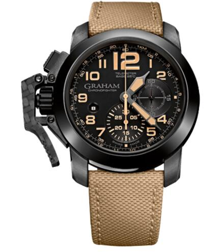Graham Chronofighter Oversize Black Sahara 2CCAU.B02A replica watch