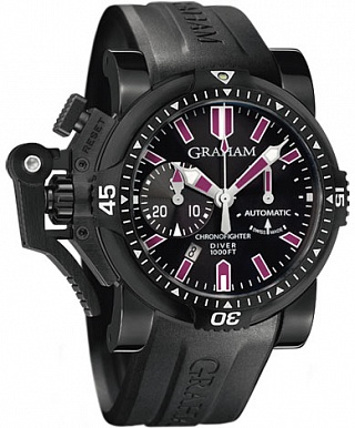 Fake Graham Chronofighter Oversize Diver Deep Purple 2OVEZ.B24A watch