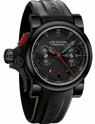 Fake Graham Chronofighter Trigger Flyback 2TRAB.B10A watch
