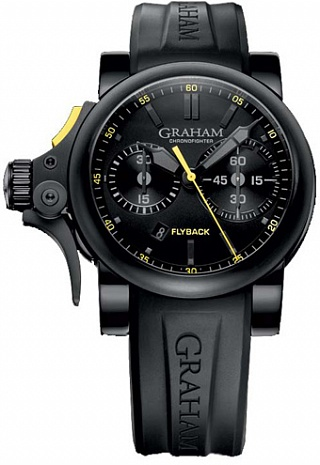 Fake Graham Chronofighter Trigger Flyback 2TRAB.B11A watch