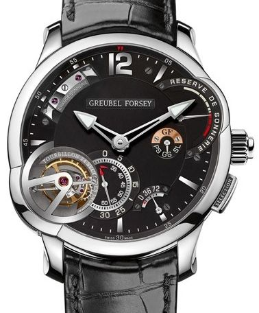 Copy Greubel Forsey Grande Sonnerie Ti Black Dial watches