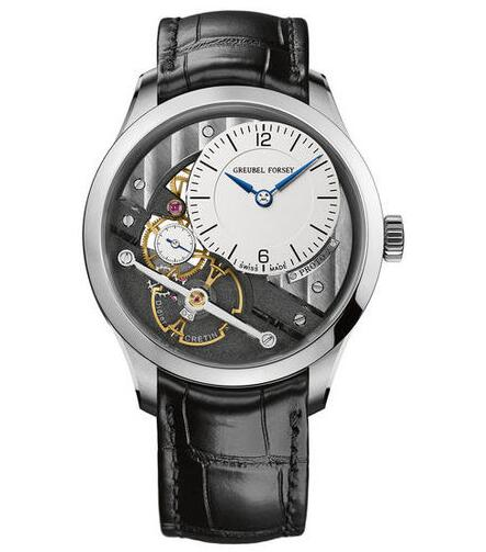 Greubel Forsey Signature 1 White gold fake watch