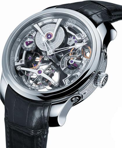Greubel Forsey Double Tourbillon Technique WG Silver watch for sale