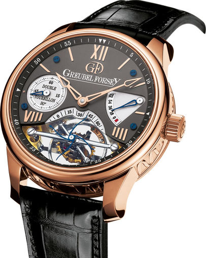 Greubel Forsey Double Tourbillon 30 ° Double Tourbillon Vision RG Black watch price