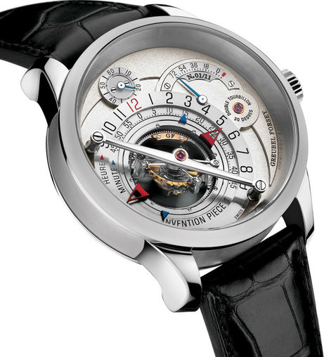 Greubel Forsey Double Tourbillon 30 ° invention 1 piece platinum limited edition 11 watch price