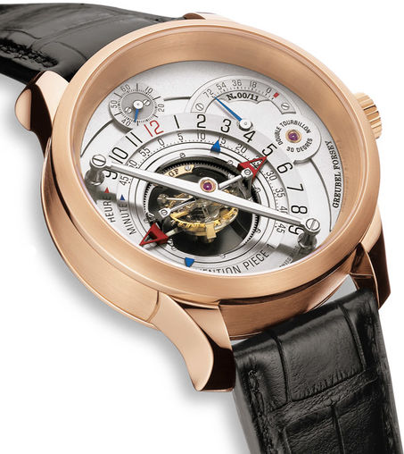 Greubel Forsey Double Tourbillon 30 ° Invention Piece 1 RG Silver Limited Edition 11 watch price