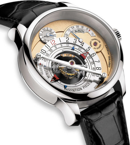 Greubel Forsey Double Tourbillon 30 ° Invention Piece 1 WG Golden Limited Edition watch for sale