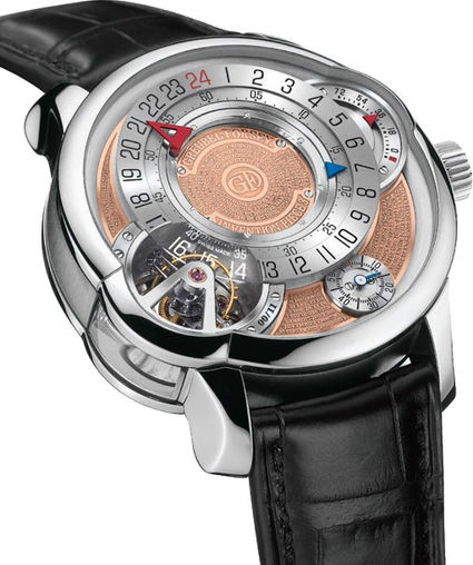 Fake Greubel Forsey Tourbillon 24 Secondes IP3 Pt Silver & Golden Limited Edition luxury watches