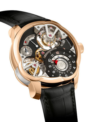 Greubel Forsey 9000 2982 Quadruple Tourbillon Invention Piece 2 Limited Edition11 fake luxury watches