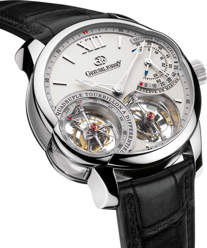 Fake Greubel Forsey Quadruple Tourbillon Pt watches