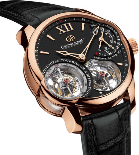Greubel Forsey fake quadruple-tourbillon-rg luxury watches