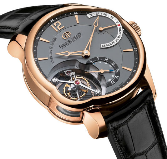 Fake Greubel Forsey Tourbillon 24 Secondes T24SI RG Black luxury watches