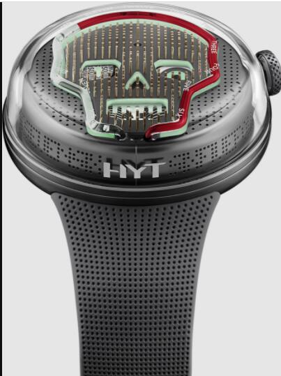 HYT SOONOW DROP Two limited edition Replica Watch H02354-A