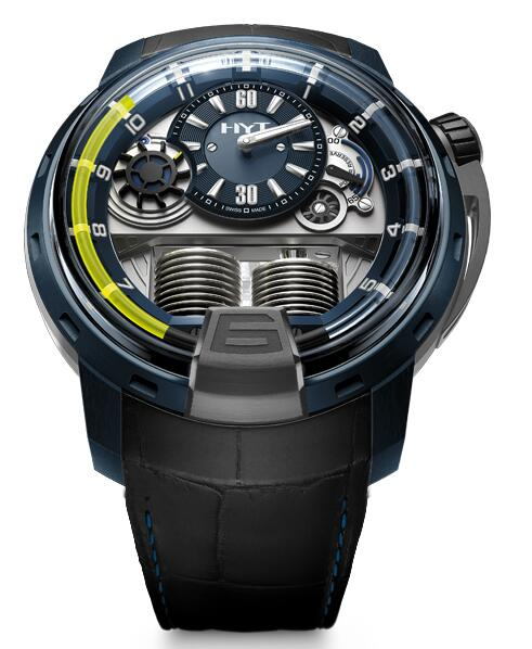 Replica HYT H1 ALU BLUE 148-AB-31-GF-RU watch