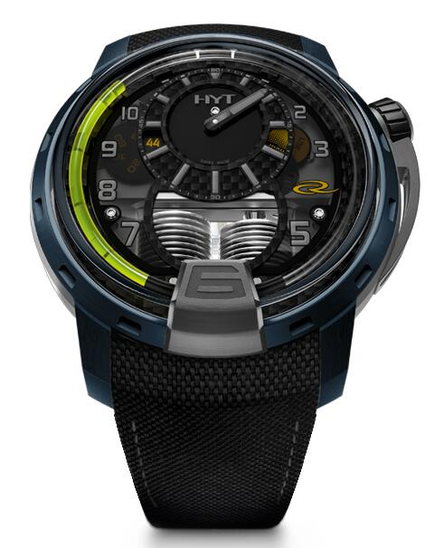 Replica HYT H1 air-rc44 148-AB-52-GF-TB watch