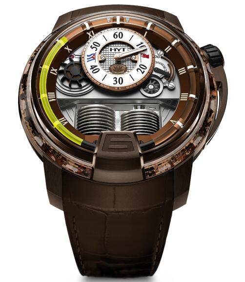 Replica HYT h1-cigar 148-NC-RO-GF-AB watch
