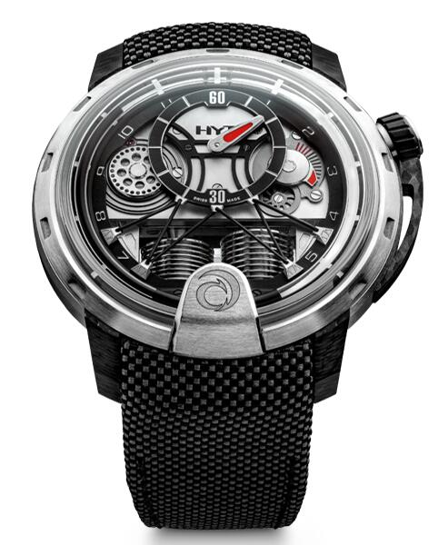 Replica HYT h1 Alinghi 148-TC-09-NF-RC watch